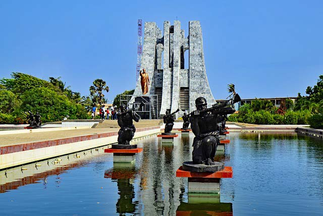 Accra Africa Monument Ghana West Africa