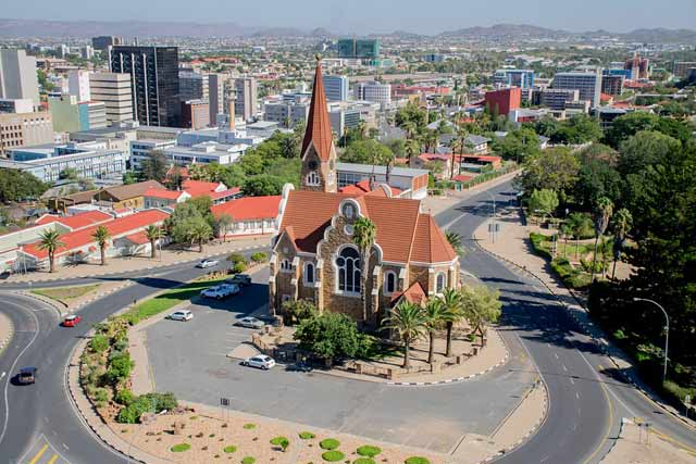 Windhoek-Building-Namibia-Church