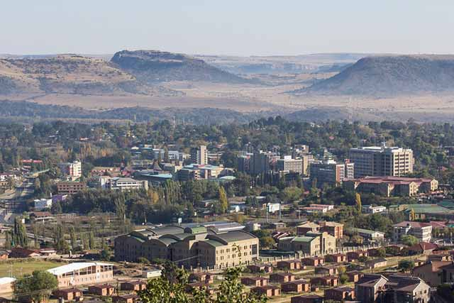 Maseru Lesotho safest country in Africa