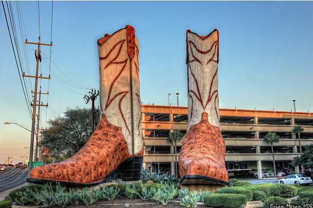 World's largest Cowboy Boots