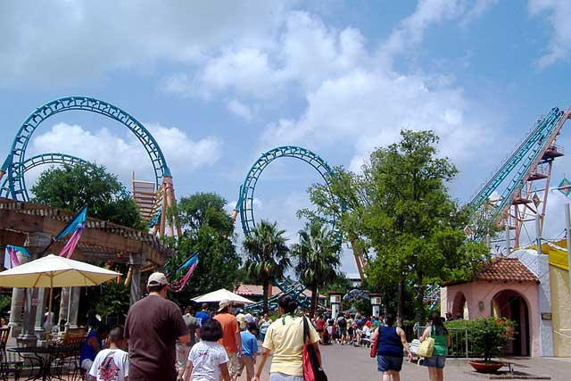 Six Flags Fiesta Texas San Antonio Tx